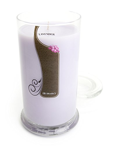 Pure English Lavender Candle - 16.5 Oz. Highly Scented Purple Jar Candle - Floral Candles Collection