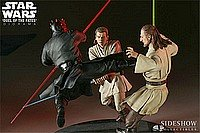 Polystone Diorama - Star Wars Duel Of The Fates Polystone Diorama