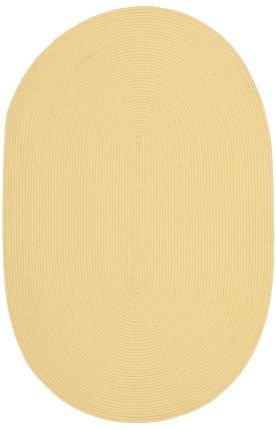 "Safavieh Martha Stewart Collection MSJ2121J Handmade Butternut Beige Oval Area Rug (2'6″ x 3'10"" Oval) For Sale"