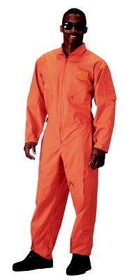 Rothco Orange US Air Force Style Flight Suit 7415 Size Medium