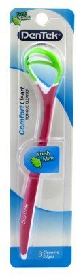 Dentek Comfort Clear Tongue Cleaner Fresh Mint by DenTek