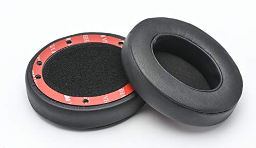 Studio 3 Ear Cushions Memory Foam Replacement Earpads Ear pad for Beats Studio 2.0 B0500 / B0501 & Studio 3.0 Wired/Wireless Bluetooth Headset Over-Ear Headphones