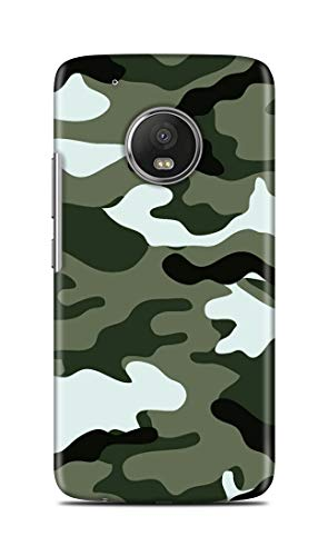 Shengshou Mobile Back Cover for Motorola Moto G5 Plus Military Army Pattern Camouflage SS575M37529