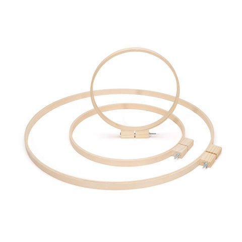 Bulk Buy: Darice DIY Crafts Wood Quilting Hoops Round 14 inches (6-Pack) 3979 Inc.