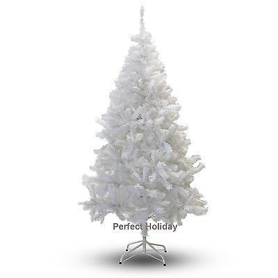 Perfect Holiday Christmas Tree, 5-Feet, PVC Crystal White by Perfect Holiday