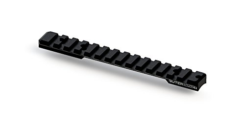 Outerimpact Ruger American Rifle Long Action Picatinny Scope Base with 0 MOA