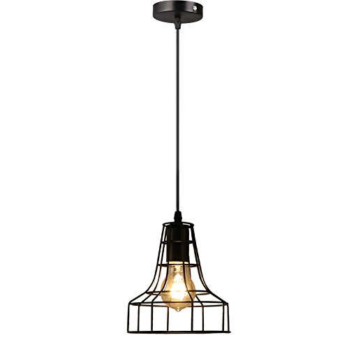 Small Iron Pendant Light - 5