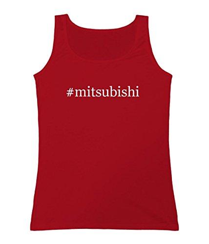 mitsubishi-womens-hashtag-tank-top-red-xx-large