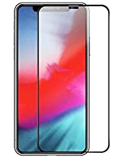 6D Explosion-proof full-cover tempered glass for iPhone XS/iPhone X 5.8 inch screen protector with black frame used Safety packing box