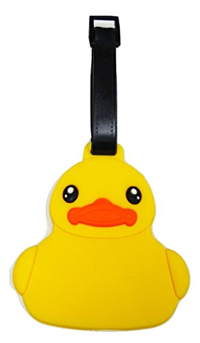 - Tapp C. Travel Luggage Name Tag - Baby Duck
