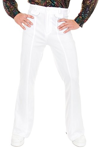 [Disco Pants Costume - 34] (Mens Disco Costumes Pants)