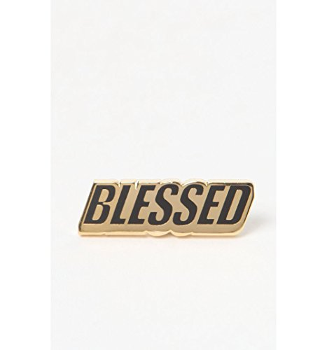 Pintrill Mens Blessed Pin
