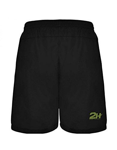 Pantalón Corto Hombre para pádel 2H Universe, S: Amazon.es ...