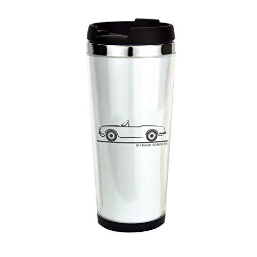 Alfa Romeo Giulietta Spider Duetto, Drinking Cup, Coffee Mug,Travel Mug 14oz