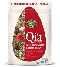 (Nature's Path Qi'a Superfood Cranberry Vanilla Chia, Buckwheat & Hemp Cereal (10x7.94 Oz)- 10 Pack)