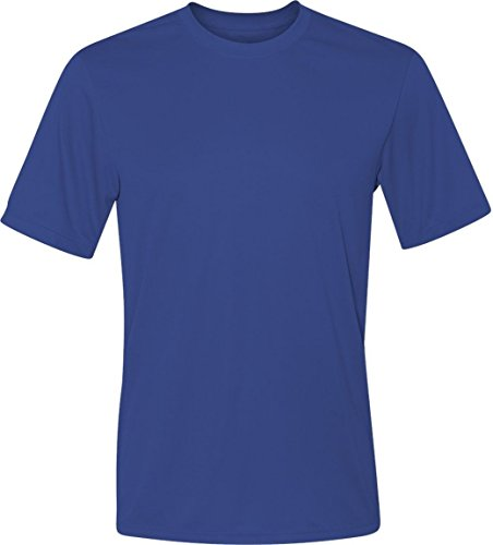 Hanes Cool Dri Tagless Mens T-Shirt_Deep Royal_3XL