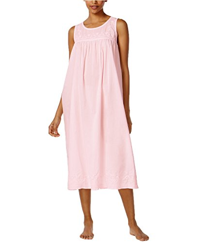 Nightgown Cotton Charter Club (Charter Club Women's Embroidered Cotton Nightgown (XXXL, Cherub))