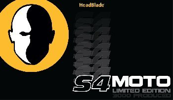 HeadBlade S4 MOTO - Limited Edition