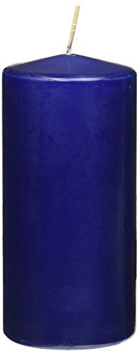 Yummi Navy Round Pillar Candles product image