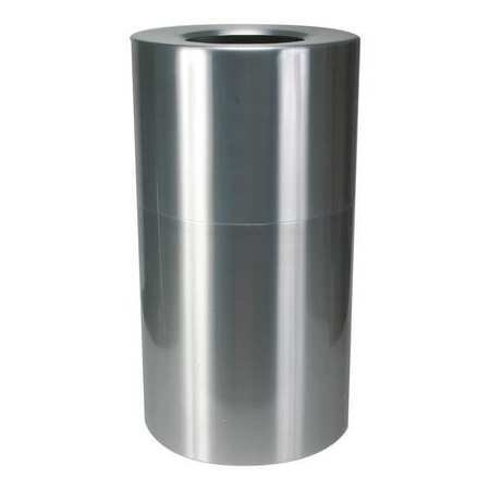 Tough Guy 4PGH1 Round Container, Satin Aluminum, 35 G