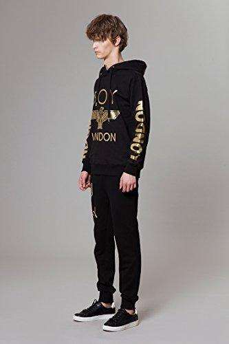 BOY LONDON '''London Printed on Sleeves Hoodie -BG3HD028 Black, X-Large by BOY LONDON (Image #3)