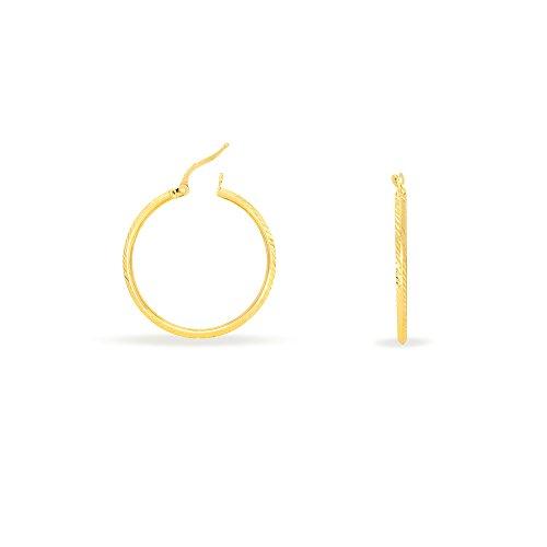 HISTOIRE D'OR - Créoles Or Lola - Femme - Or jaune 375/1000