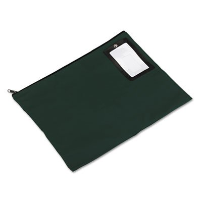 Flat Dark Green Transit Sack, 18w x 14h, Sold as 1 Each by PM Company