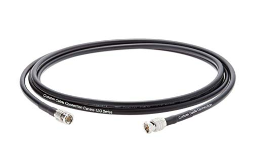 300 Foot Canare (L-5.5CUHD) 12G-SDI 4K UHD Video BNC Coax Cable sold by Custom Cable Connection by Custom Cable Connection