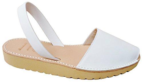 5 Blanco Ferse Farben menorcan verschiedene Avarcas box MENORQUINAS mit Sandalen plataforma cm Sandalen 2 Clogs BEIGE beige Keil wfqx6W0I