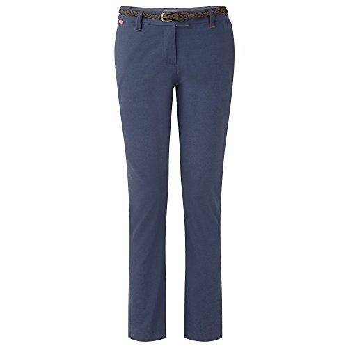 Craghoppers Womens/Ladies NosiLife Fleurie Walking Trousers Dove Grey