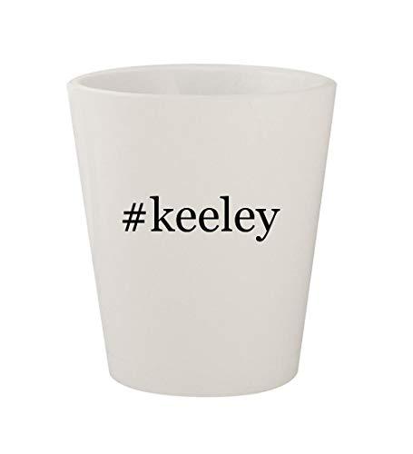 #keeley - Ceramic White Hashtag 1.5oz Shot Glass ()