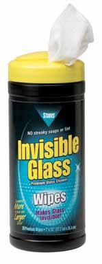 Stoner Invisible Glass Wipes 7'' X 12''