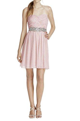 Missdressy - Vestido - trapecio - para mujer rosa claro