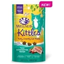 Kittles Tuna and Cranberries Recipe Cat Treats, 2 Ounce -- 14 per case.