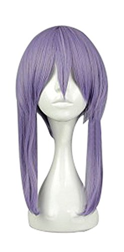 Shinoa Hiragi Costume (Mtxc Seraph of the End Cosplay Shinoa Hiragi Wig Purple)