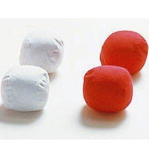 運動会用品 玉入れ用 紅白玉 色 赤(50個入りまとめ買い) 日本製 B00JGFA8K2
