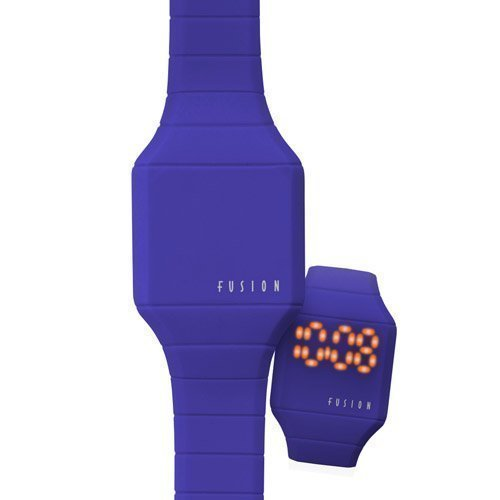 Hidden Led (Dakota Boy's Quartz Plastic and Silicone Watch, Color:Blue (Model: 52531))