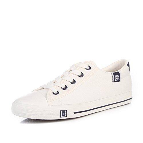 Verano de mujer de tela/Sólido blanco zapatos zapatillas/Zapatos de tendencia C