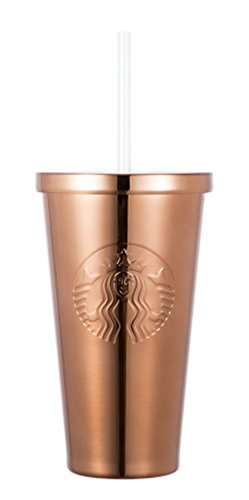 Starbucks Copper Siren Coldcup Stainless Steel Tumbler 16oz by Starbucks