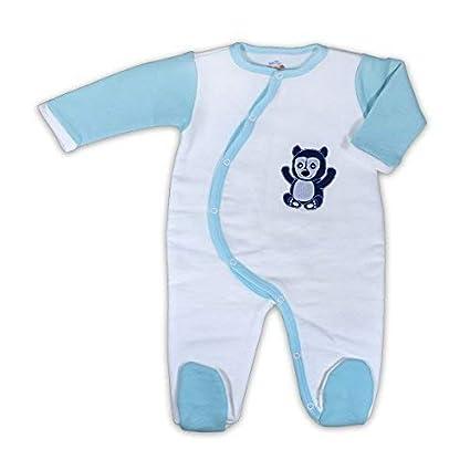 Mama Ocllo – Bebé orgánico del algodón pijama para 100% Pima cepillado – 100%