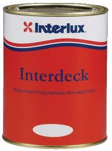 Interlux YJB000/QT Interdeck Slip Resistant Deck Paint (White, Quart)