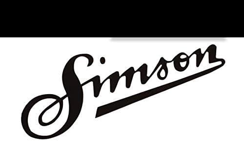 Supersticki Simson Schriftzug Ca 20cm Motorrad Aufkleber Bike Auto Racing Tuning Aus Hochleistungsfolie Aufkleber Autoaufkleber Tuningaufkleber Hochleistungsfolie Für Alle Glatten Flächen U Auto