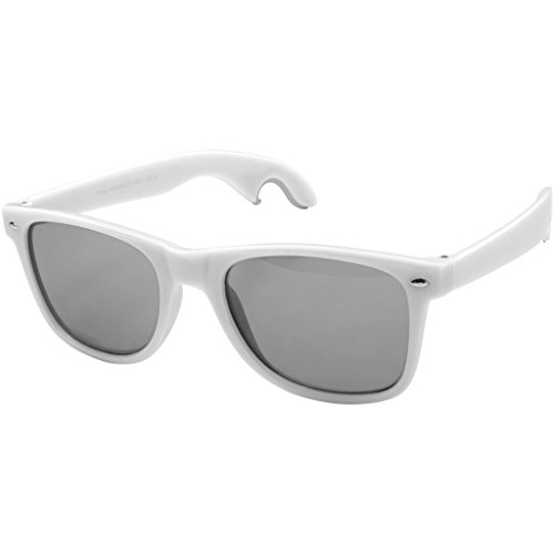 (Bullet Sun Ray Sunglasses With Bottle Opener (1.9 x 5.9 x 6.3 inches) (White))