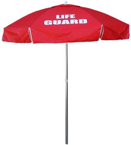 Kemp USA Lifeguard Umbrella – Red