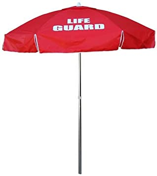 Kemp USA Lifeguard Umbrella – Red