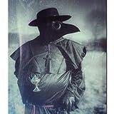 Raxwalker Plague Doctor Bird Mask Long Nose Beak