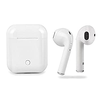 GIMTVTION I9S TWS - Auriculares inalámbricos Bluetooth con cancelación de ruido, estéreo, estéreo, con micrófono y funda de carga para iPhone, ...