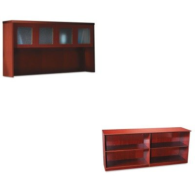 KITMLNAHG72LCRMLNVLCCCRY - Value Kit - Mayline Veneer Low Wall Cabinet without Doors (Aberdeen Low Wall Cabinet)