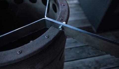 Gr/ö/ße:Abstandshalter 3 St. Grillrost.com Das Original Placa de Fuego de 80 y 100 cm y Accesorios para barriles de Fuego y Parrillas de Bolas
