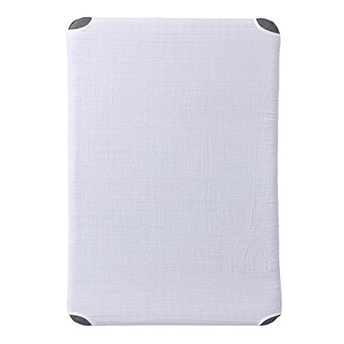 HALO DreamNest Fitted Sheet - Muslin White